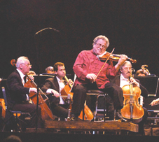 USA - Itzhak Perlman Performs in Boca Raton