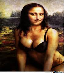 Mona Lisa with Bikini