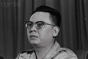 Portrait of L. Gen. Tran Thien Khiem