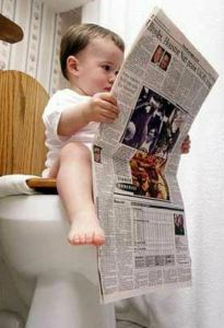 baby-reading-newspaper