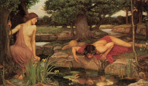 Echo_Narcissus_by_Waterhouse
