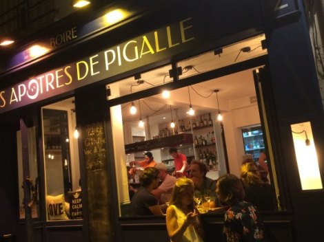 Pigalle at night