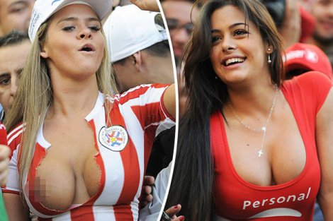 Latin Fans of World Cup