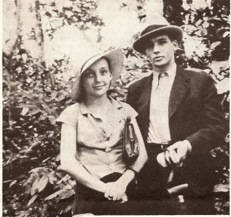 Marguerite Duras and her first lover