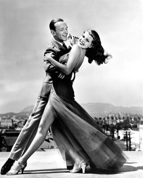 YOU'LL NEVER GET RICH, from left: Fred Astaire, Rita Hayworth, 1941